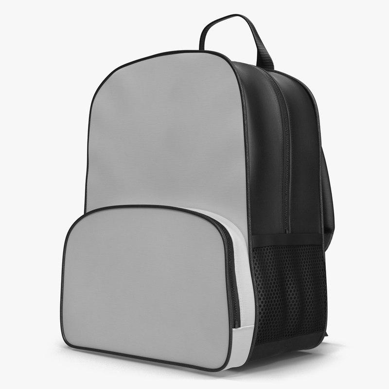 Backpack Generic 3d model 01.jpg