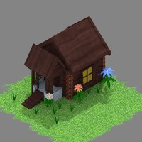 isometric hut max