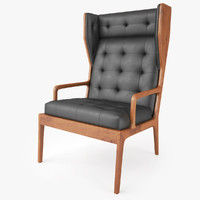 james uk wingback chair 3d max