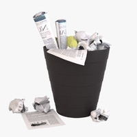 Waste Paper Basket 2