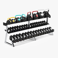 3d model weight rack