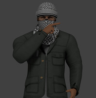 3d taliban rigged