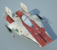 star wars a-wing starfighter max