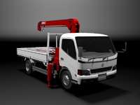3ds max toyota toyoace truck industrial