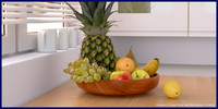 3d fruit pack bowl vol3