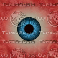 Eyeball Texture (Blue)