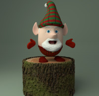 Christmas Elf  (Gnome)