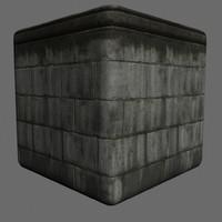 Tileable Dark Brick
