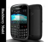 3d model blackberry black
