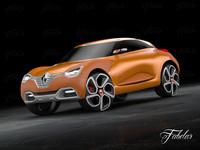 3d model renault captur concept