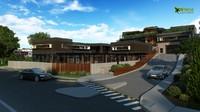 Residential Bungalow Exterior 3D Cgi Design View