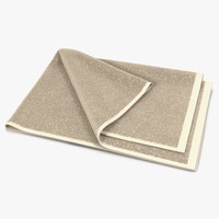 towel 4 beige fur max
