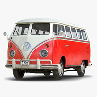 volkswagen type 2 red max