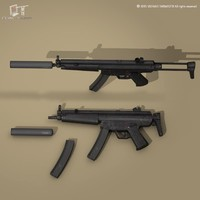 c4d mp5a3 suppressor