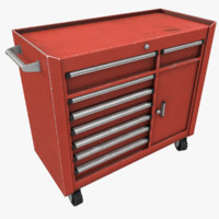 3d tool cabinet