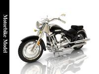 motor moto bike 3d model