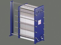 3d plate type heat exchanger