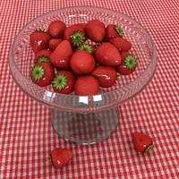 3d model strawberry