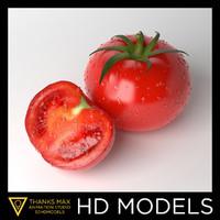 3d model photorealistic tomato realistic