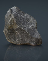 real stone 11 3d obj