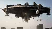 UFO Mothership from District 9 movie. 3D-plintable kit.