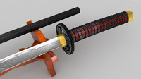 cinema4d katana sword
