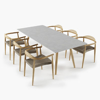 Dansk Table Chair Set