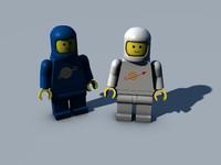 lego mini figure 3ds