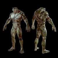 free pbr character 3d model