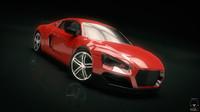 race car 3d x