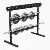 max barbell weight rack