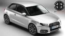 Audi A1 3D models