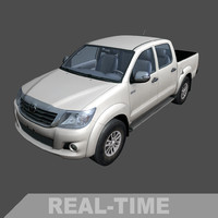 3d time toyota hilux model
