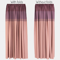 curtains fabric 3d max