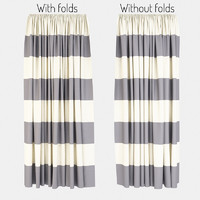 curtains fabric 3d model