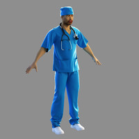surgeon outfit 3ds