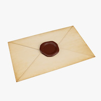 Letter with Sealing Wax