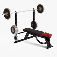 exercise bench 3ds