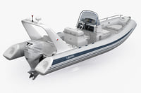 3ds inflatable boat grand silver
