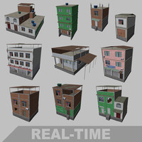 3d model real-time brazilian house