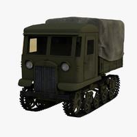 3d medium stalinets ww2 model