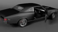3d model 1967 chevelle