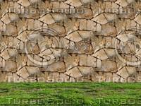 Stone wall 118
