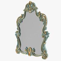 3d model mirror modenese gastone