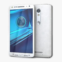 3d model motorola droid turbo