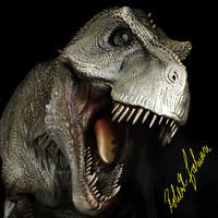 tyrannosaurus rex 3d obj