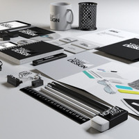 Stationary, Mock up and Office Pack