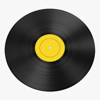 3d vinyl model