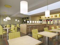 bistro restaurant interior