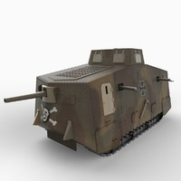 maya a7v german tank